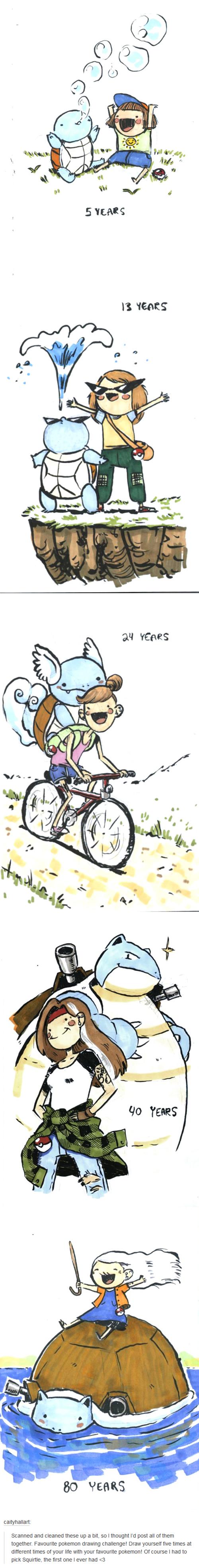 Pokémon best buds Fan Art squirtle - 8449402624