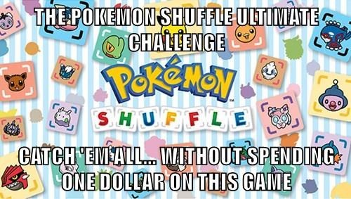 pokemon shuffle good luck - 8449444608