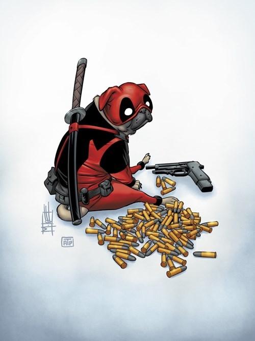 superheroes-deadpool-marvel-deadug-pug-cover