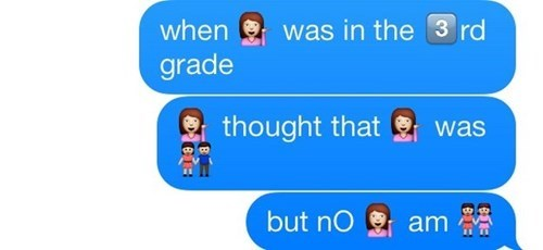 Text - was in the 3 rd when grade thought that was but no am