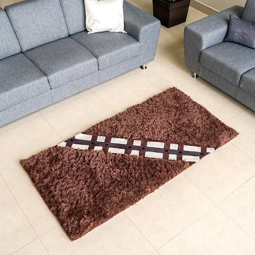 star wars merch wookie rug