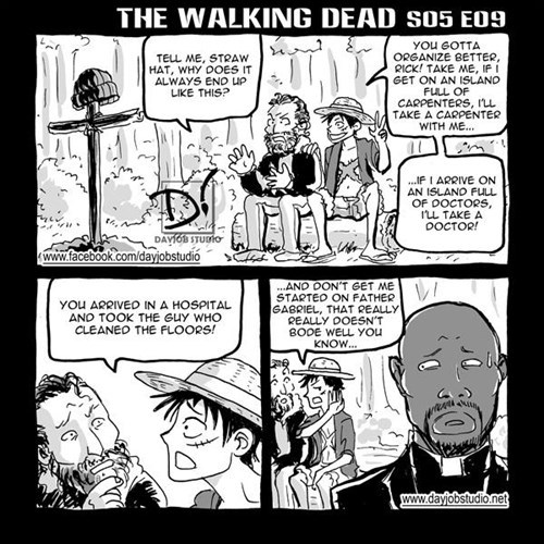 Rick Grimes critique recruitment web comics - 8449665280