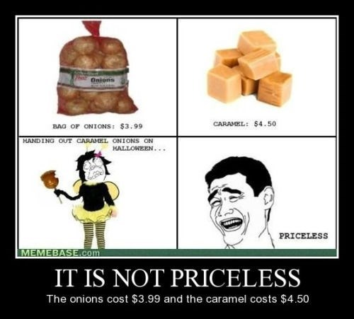 caramel priceless onions funny - 8449705472