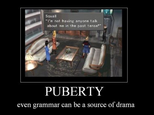 teens puberty final fantasy funny - 8449705728