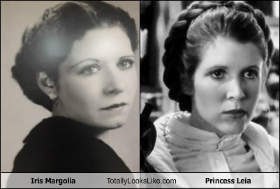 Iris Margolia Totally Looks Like Princess Leia