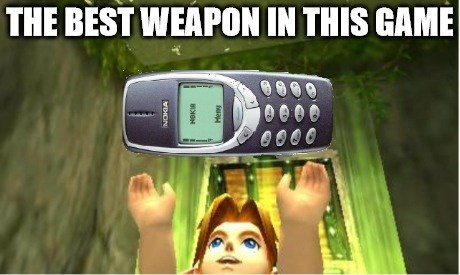 nokia,the legend of zelda
