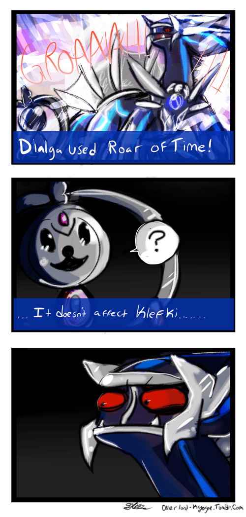 klefki,Pokémon,dialga,fairy types,web comics