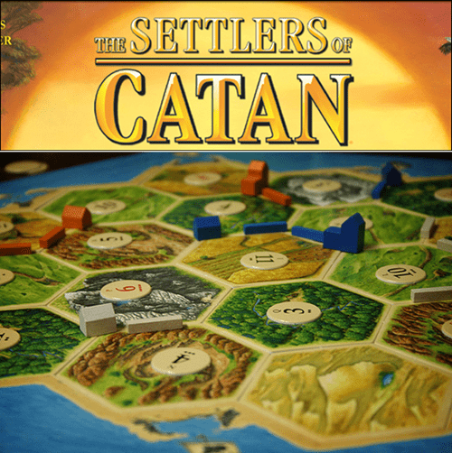 geek news settlers of catan movie tv show