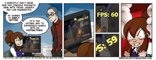 FPS gaming gamers PC MASTER RACE web comics