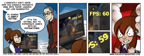 FPS gaming gamers PC MASTER RACE web comics - 8449959936