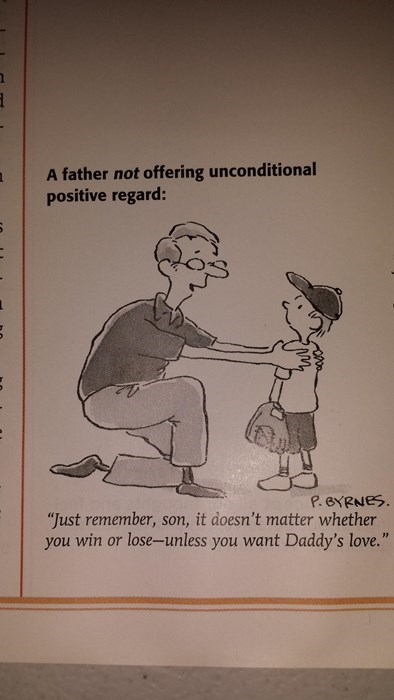 sports kids parenting unconditional love comic - 8449992960