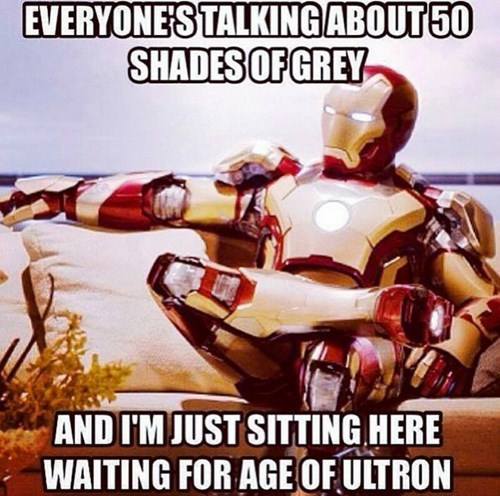 superheroes-avengers-marvel-50-shades-of-grey-iron-man-waiting-age-of-ultron
