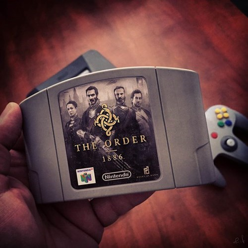the-order-1886,nintendo 64,cartridges,video games