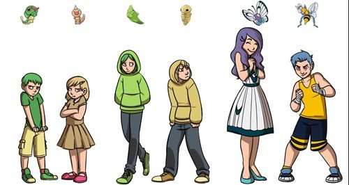 evolution,gender identity,Pokémon