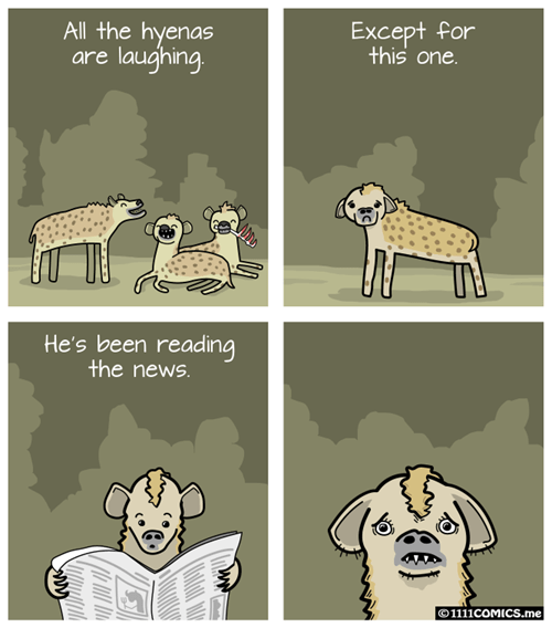 funny-web-comics-the-only-hyena-that-doesnt-laugh