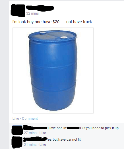 funny-facebook-fails-barrel-sale
