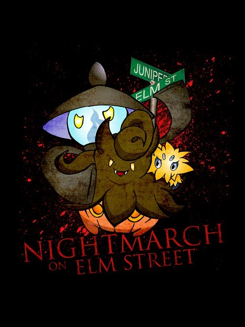 crossover Pokémon nightmare on elm street - 8450351360