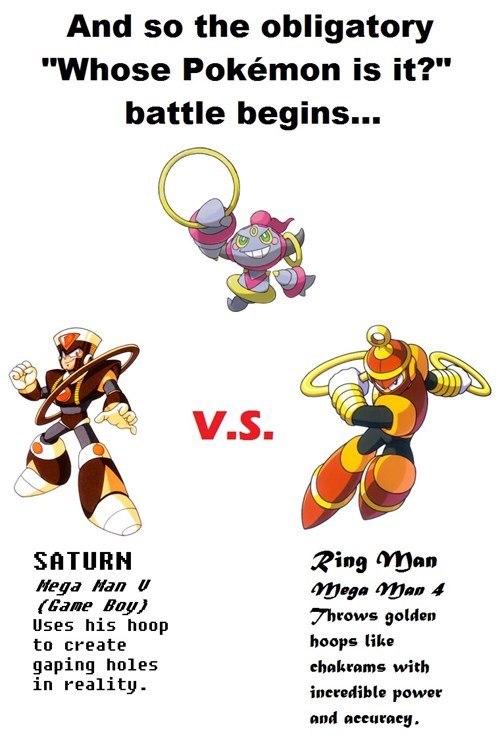 rings,Pokémon,mega man,hoopa