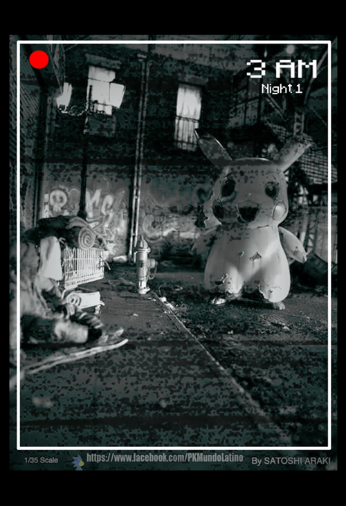 Fan Art,five-nights-at-freddy-s-pokemon