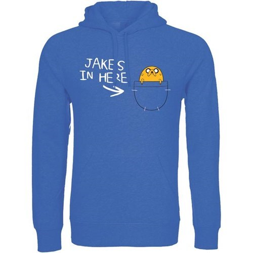 geeky merch adventure time jake pocket sweatshirt adventure time