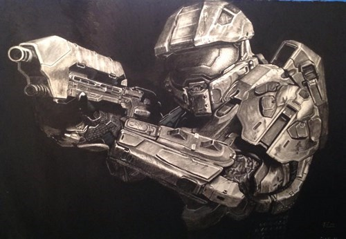 Fan Art,for sale,halo,video games