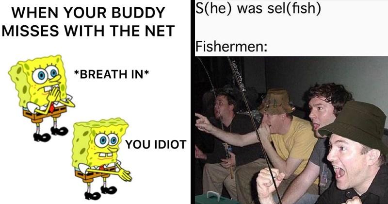 stupid memes fishing funny memes fishing memes fish hobby bait redneck - 8450821