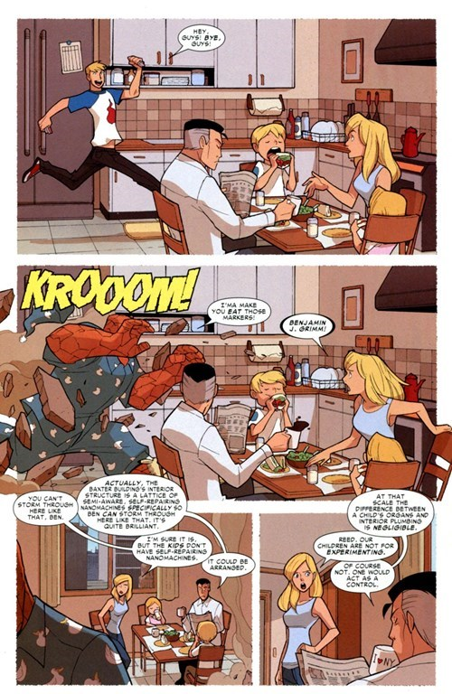 Straight off the Page Fantastic Four - 8451163392