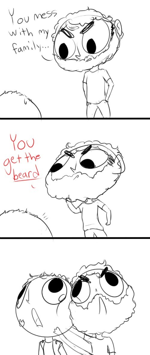funny-walking-dead-rick-grimes-beard-comic