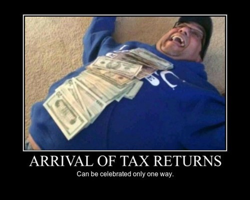 Tax Returns celebration funny - 8451378688