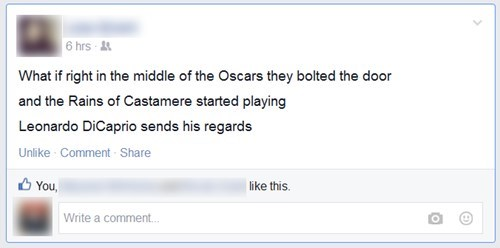 leonardo dicaprio,Game of Thrones,facebook,oscars