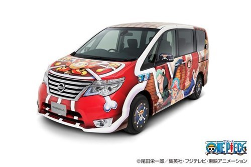 anime news official one piece van