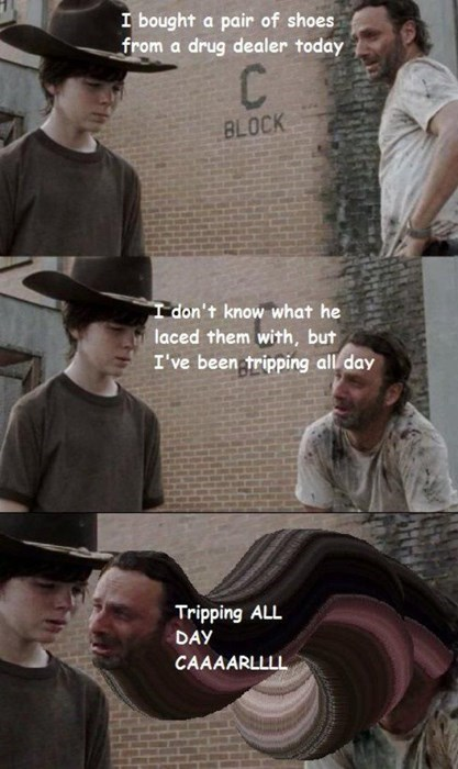 funny-walking-dead-dad-jokes-tripping-all-day