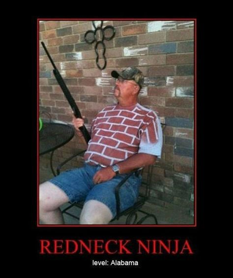funny,ninja,redneck