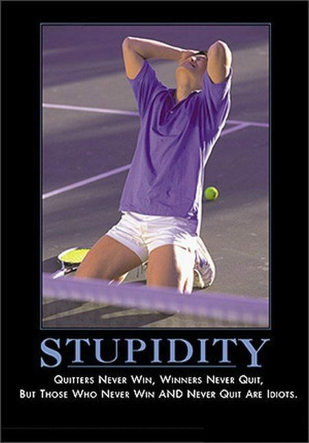 winning funny stupidity quitters - 8451649792