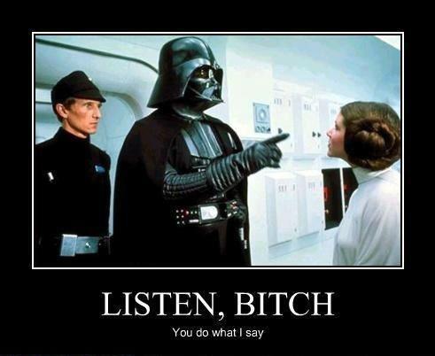 darth vader nice funny star wars Princess Leia - 8451650048