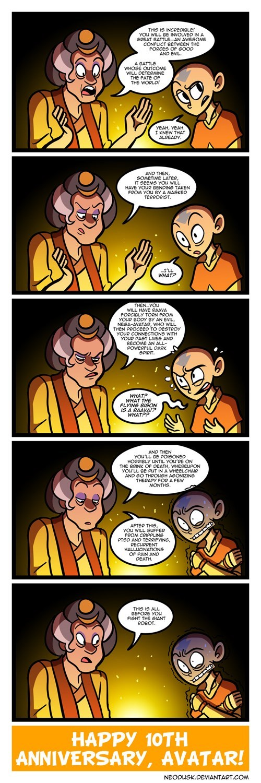cartoon memes avatar spoilers fortune teller