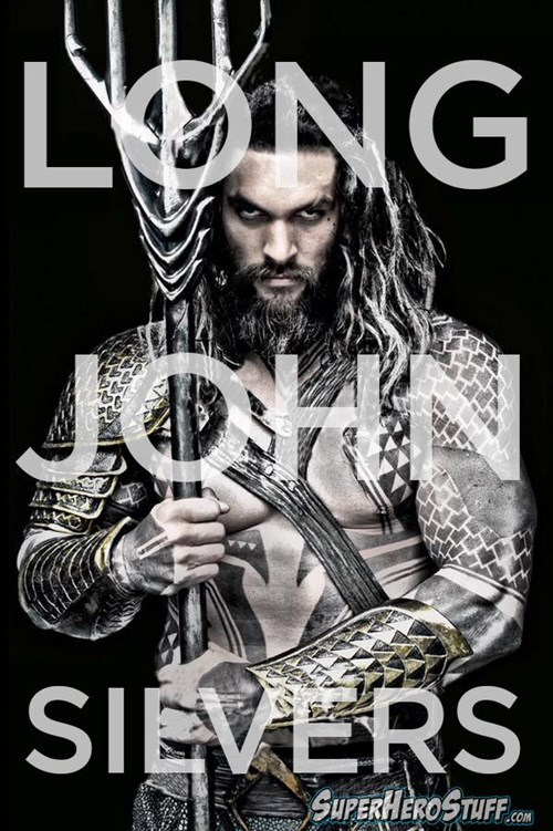 aquaman delicious long john silvers - 8451730944