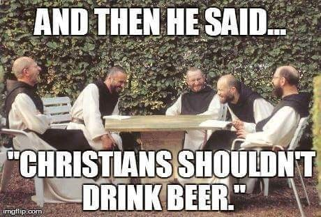 Monks make some of the best beer