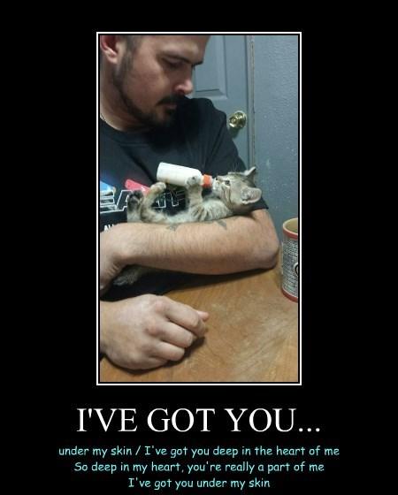 I'VE GOT YOU...