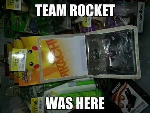 Pokémon Team Rocket amiibo - 8452097280