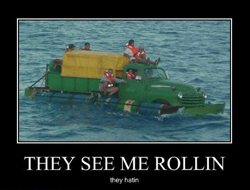 hating truck boat rollling - 8452162816