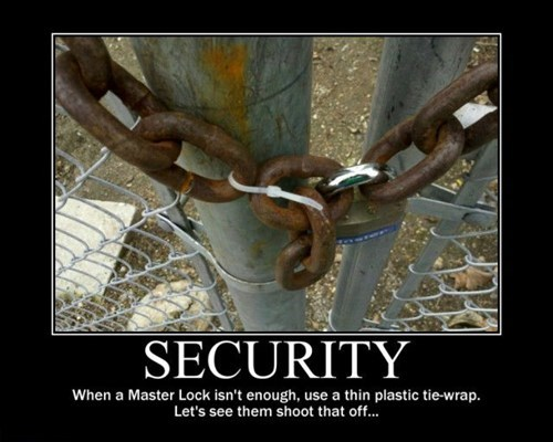 security wtf funny chain