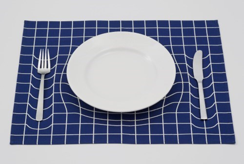 geeky merch trick placemat