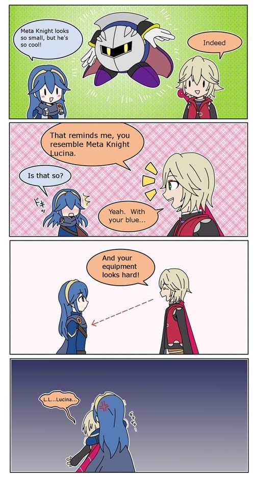 super smash bros shulk lucina web comics - 8452307968