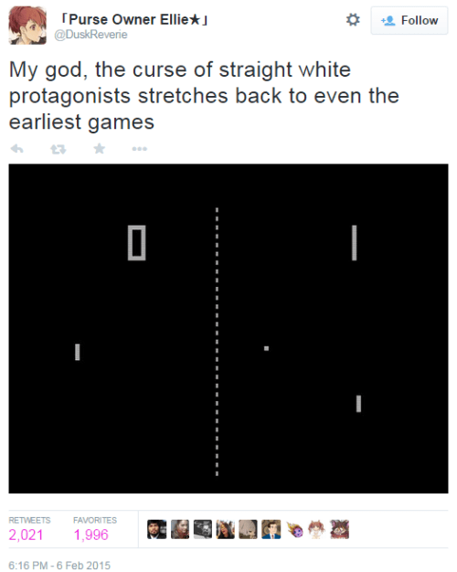 twitter,sjw,pong,gamergate,privilege
