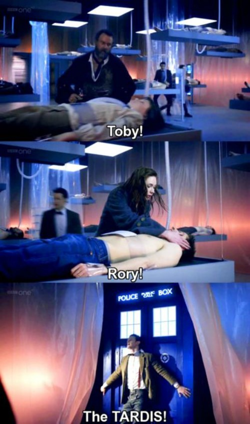 funny-walking-dead-matt-smith-tardis-loved-one