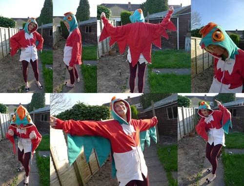 Pokémon hawlucha IRL sweater hoodie - 8452369408
