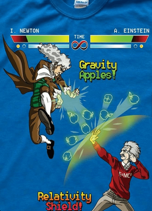einstein's got light speed on his side
