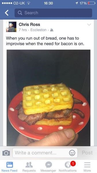 funny-facebook-fails-bacon-waffles