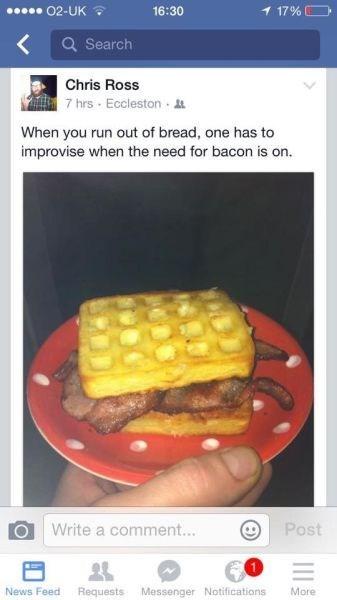 funny-facebook-fails-bacon-waffles